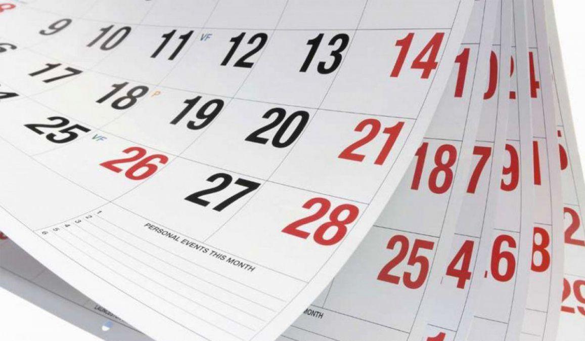 Feriados de mayo: cuándo es el próximo fin de semana largo