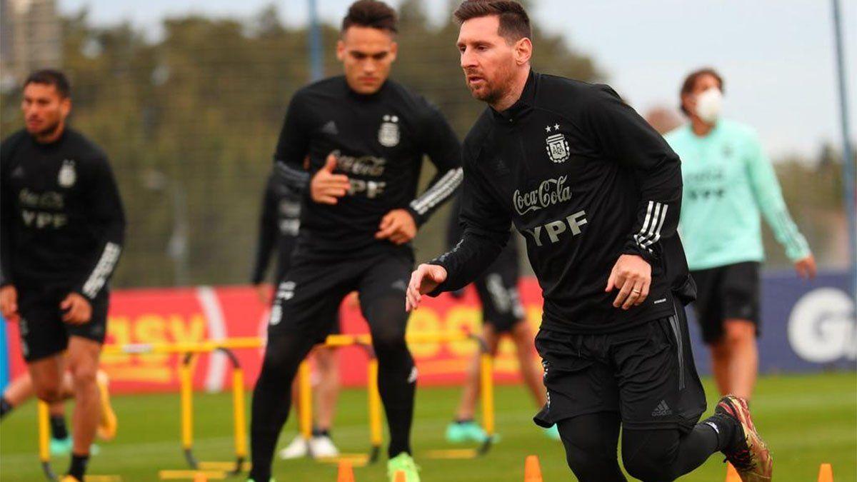 La Selección argentina juega con Chile, en Santiago del Estero