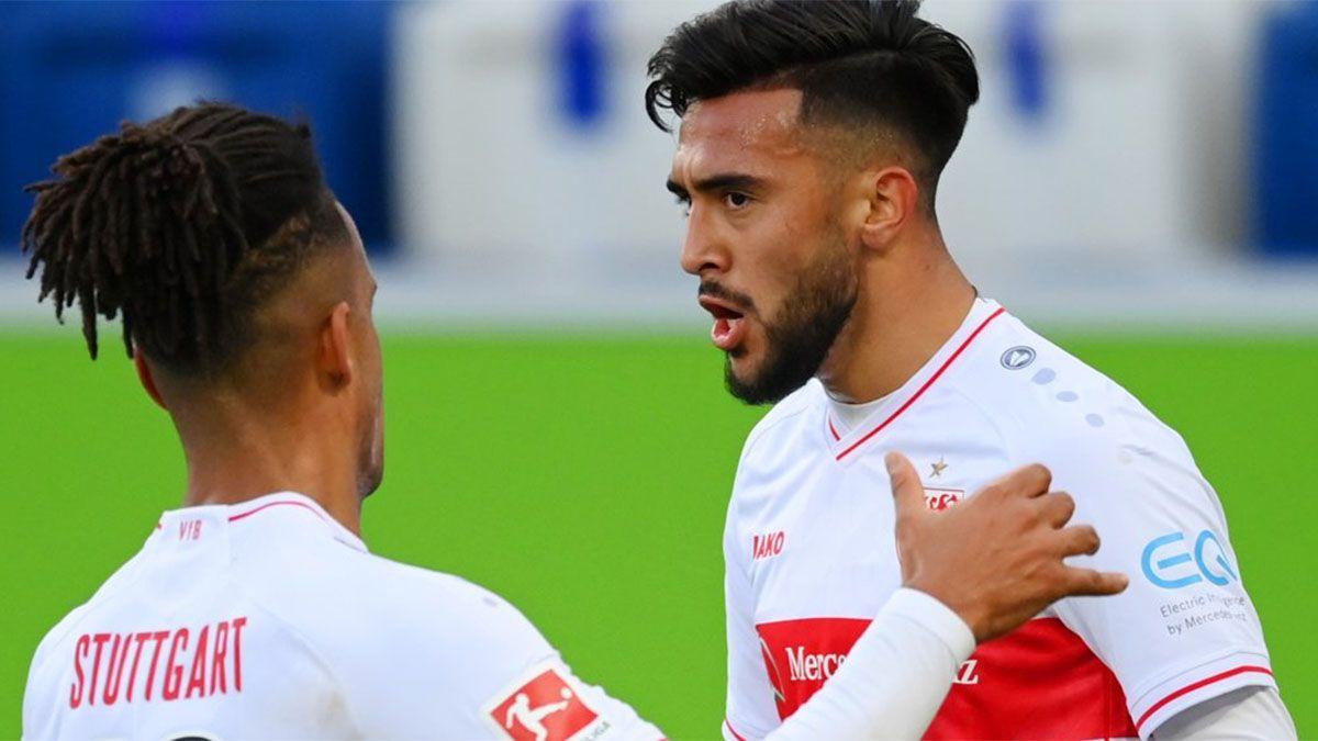 Golazo y lesión de Nicolás González