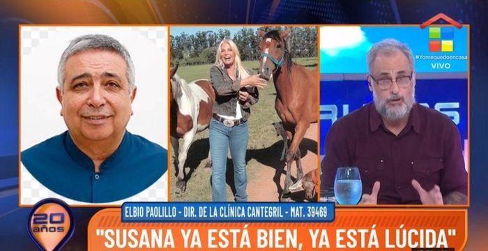Susana Giménez fue dada de alta: Superó muy rápido la situación