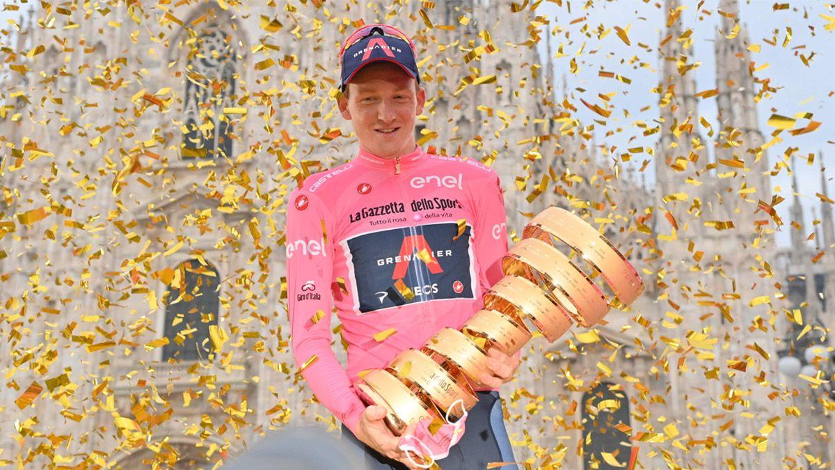 Tao Geoghegan Hart se proclamó campeón del Giro de Italia