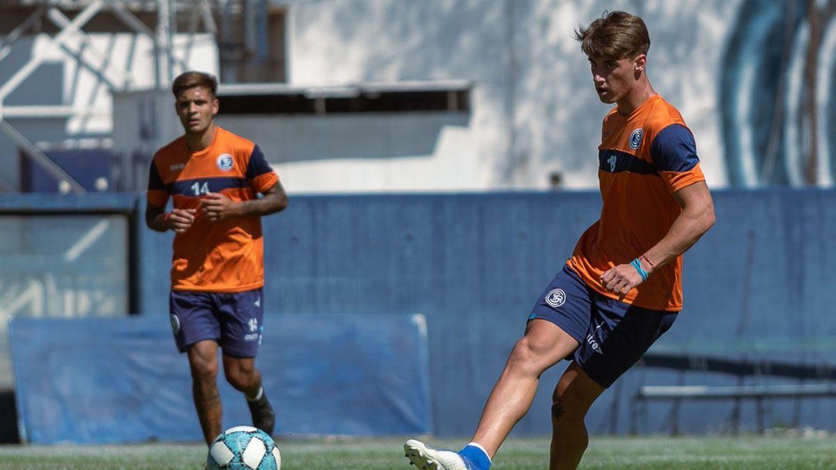 Independiente Rivadavia entrenó a la espera de los amistosos