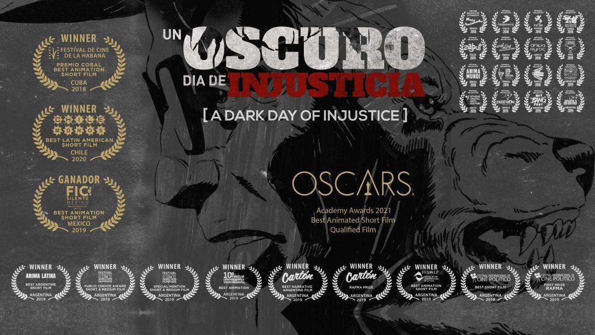 El cortometraje animado Un oscuro día de injusticia narra las últimas horas en la vida de Rodolfo Walsh.