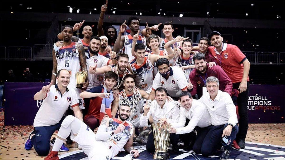 ¡Quimsa de Santiago del Estero es campeón de América!