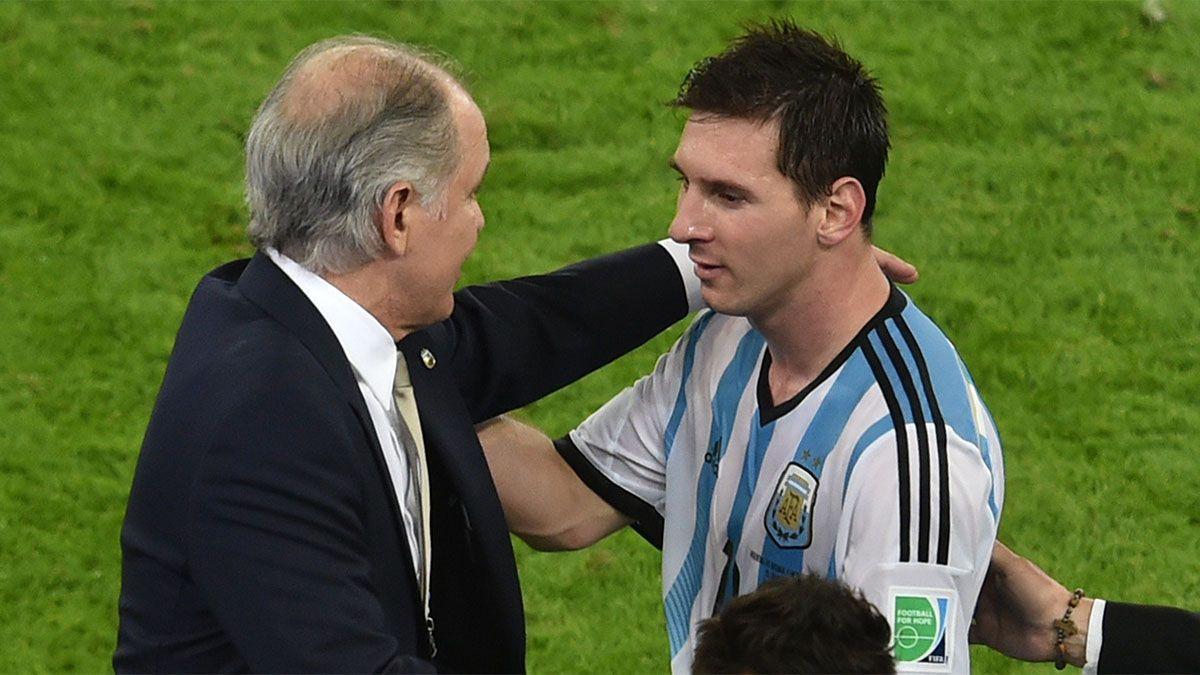 Lionel Messi: sentido mensaje para Sabella y gran confesión