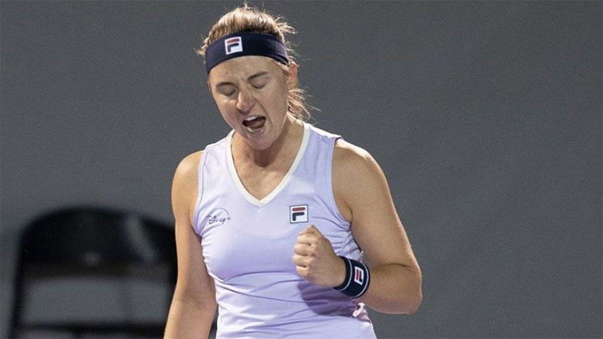 Nadia Podoroska avanzó a los octavos de final en Guadalajara
