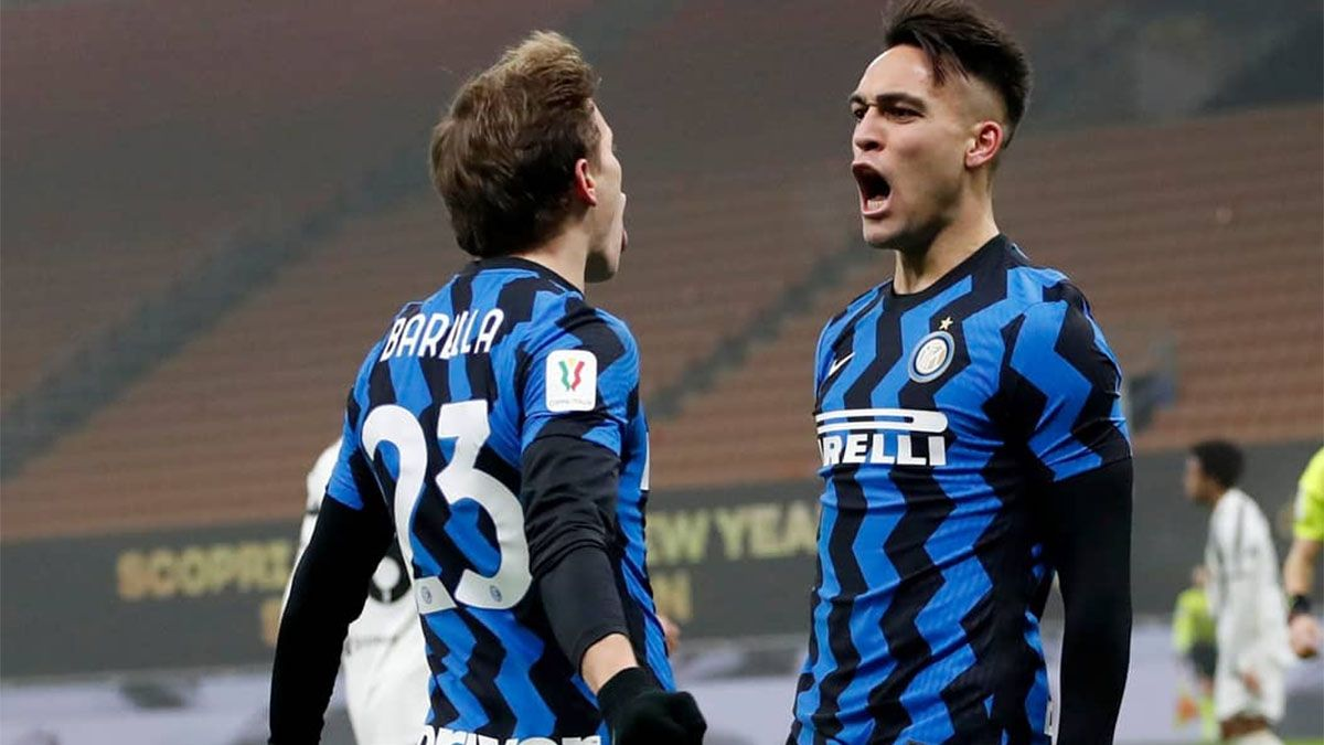 Lautaro Martínez hizo un gol, pero Inter perdió con la Juve