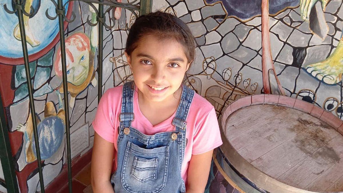 Isabella Milagros Pereyra tiene 11 años y es de Maipú. Ama el deporte