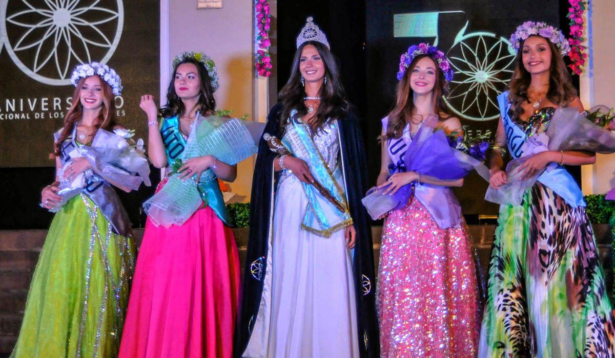 La mendocina Lucía Schober fue elegida por la región Cuyo, en la Fiesta Nacional de los Estudiantes