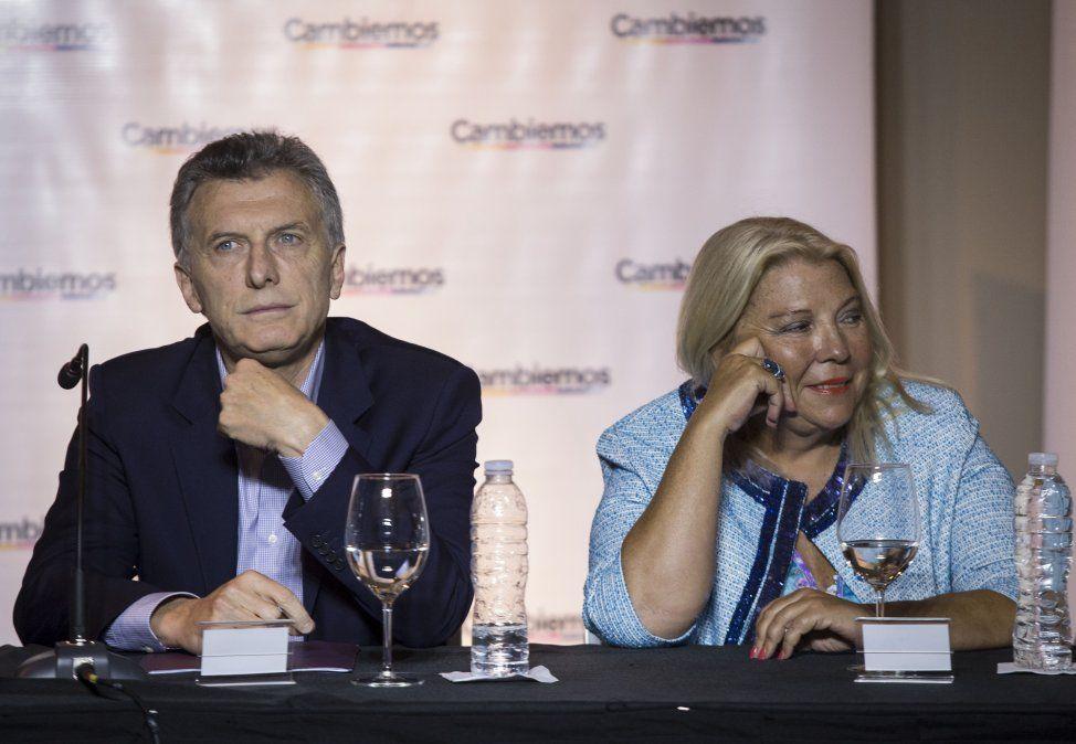 Duras críticas de Elisa Carrió a Mauricio Macri.