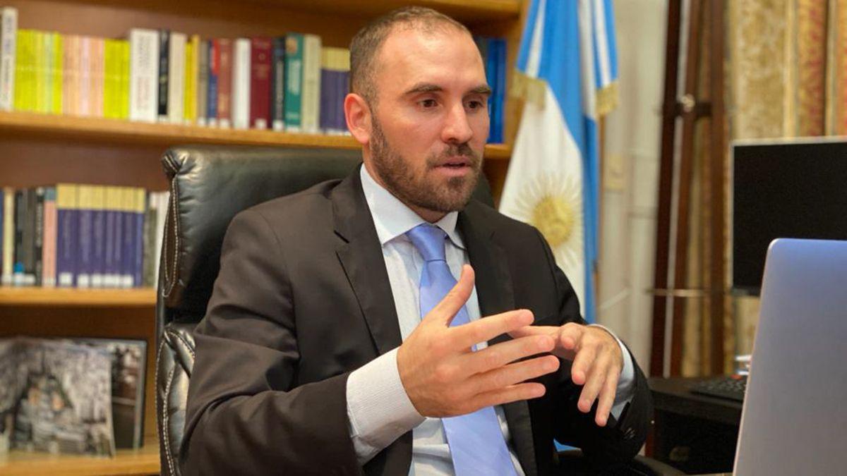 Martín Guzmán presentó el Presupuesto 2021.
