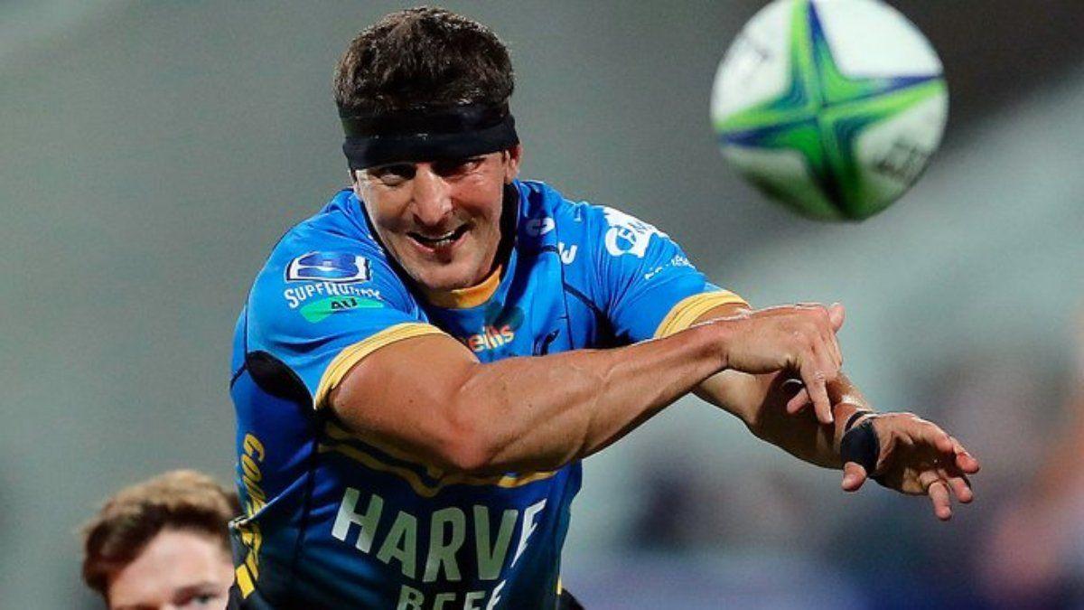 Tomás Cubelli marcó un try en el inicio del Súper Rugby Australia
