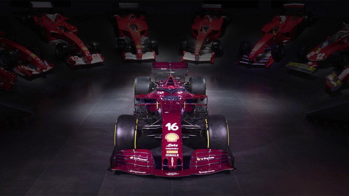 Ferrari cambió el color de su auto