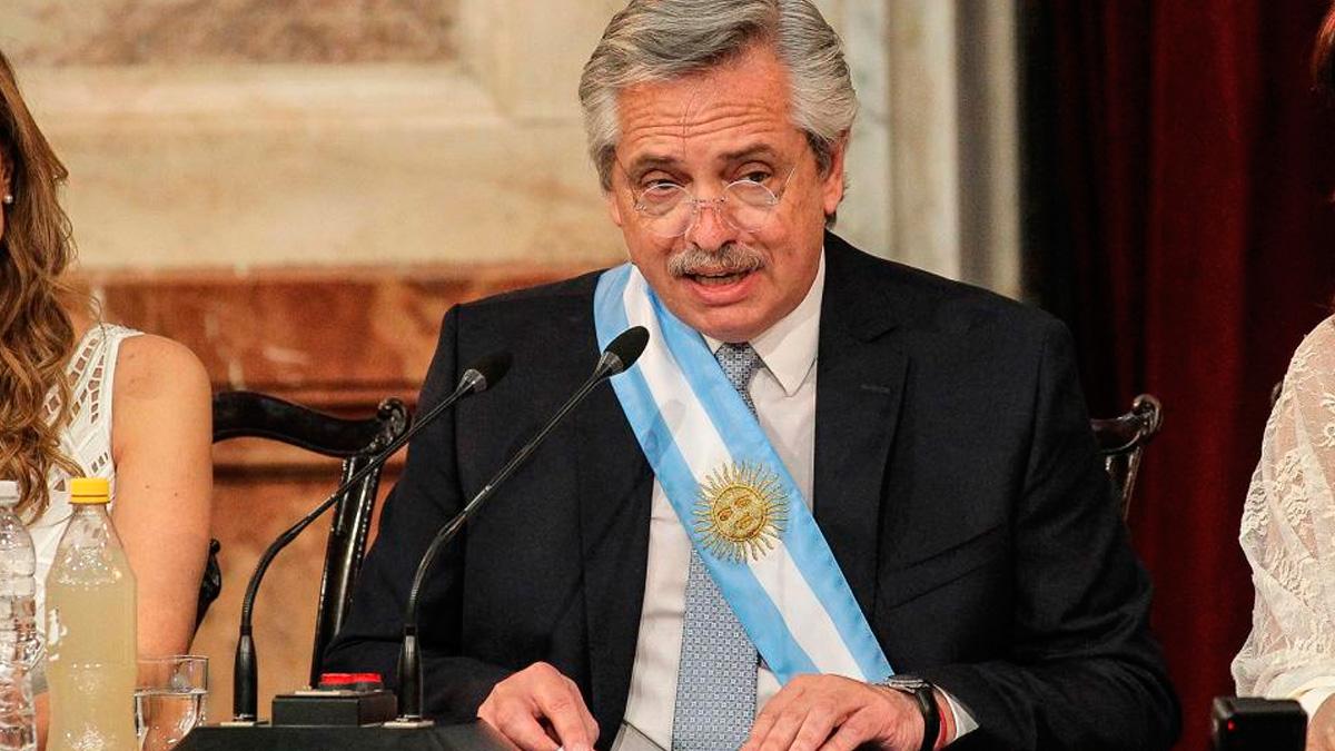 El Presidente de la Nación cargó contra los magistrados en su discurso en el Congreso.
