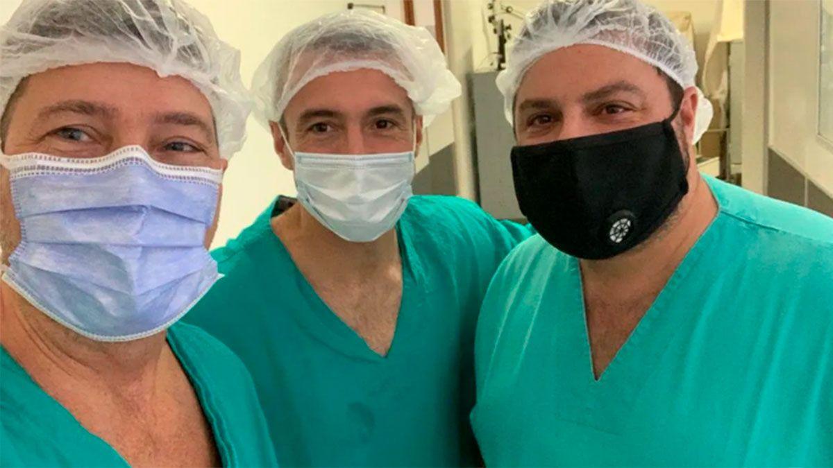 Los médicos Fernando Soldano