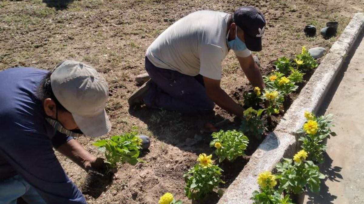 Vecinos colaboran con el municipio para mejorar los espacios públicos de Santa Rosa