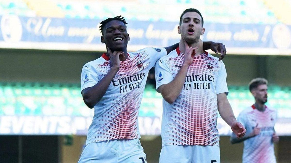 Milan ganó y se le acercó al líder Inter