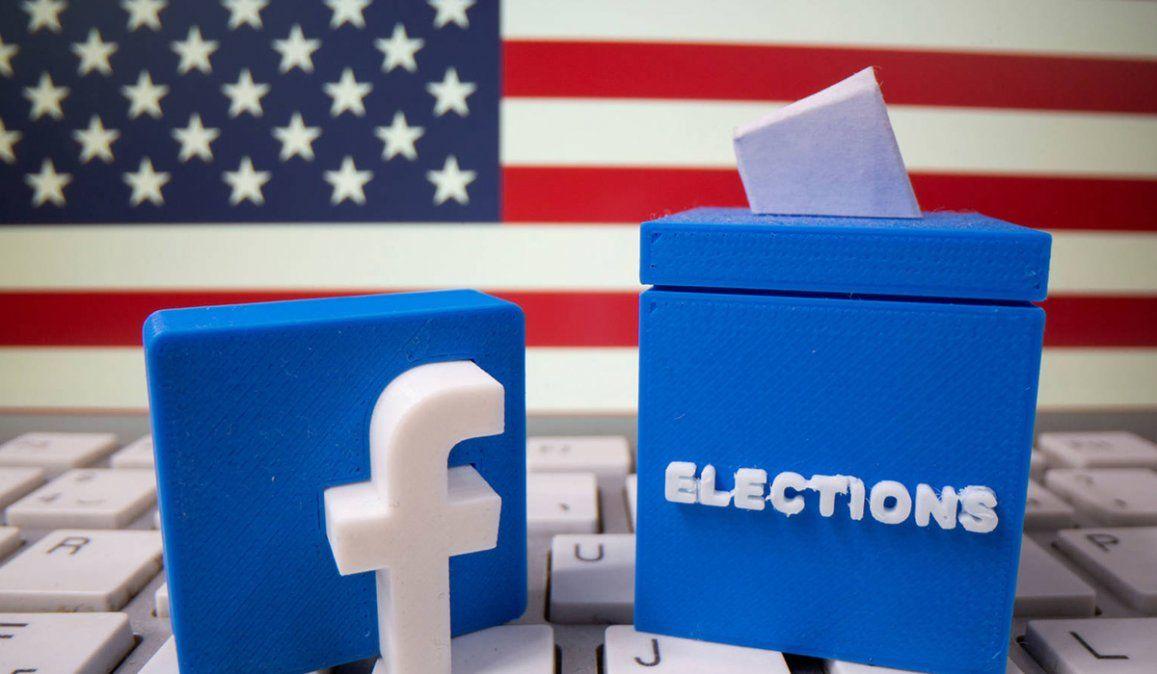 La red social Facebook decidió cerrar un grupo pro Trump por realizar preocupantes llamados a la violencia e insistar a interrumpir el conteo de votos
