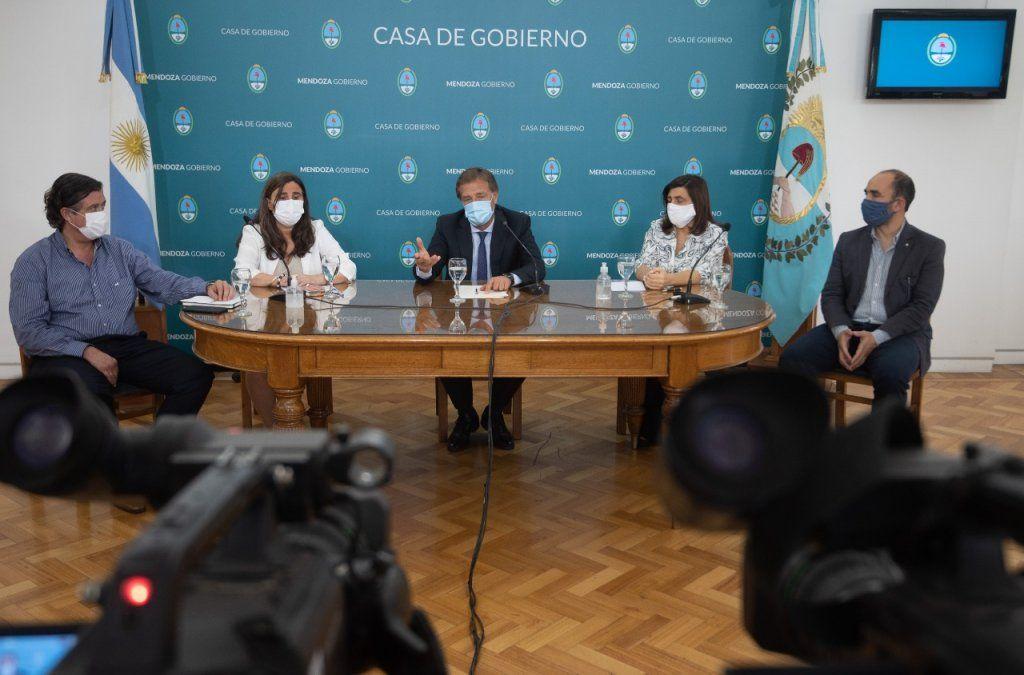 Rodolfo Suarez anuncia nuevas habilitaciones de actividades en Mendoza.