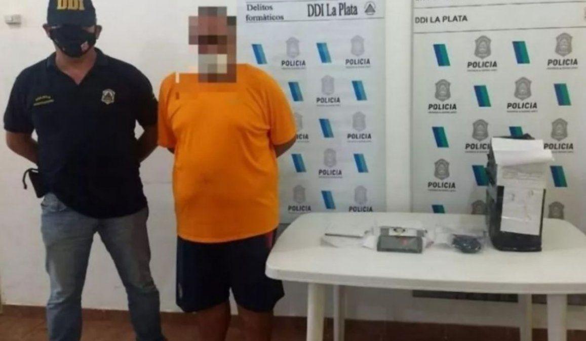 El enfermero acusado de distribuir pornografía infantil se desempeñaba en el Hospital Sor María Ludovica de La Plata y fue detenido en la casa de un familiar