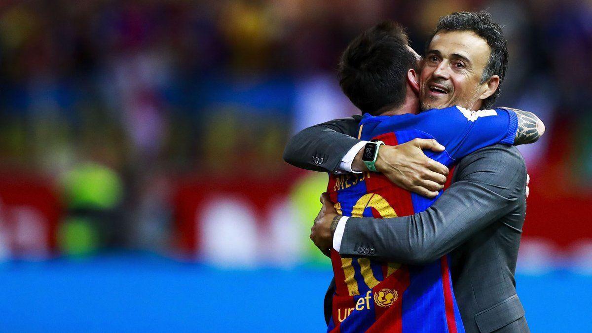 El DT de España Luis Enrique subrayó que los clubes están por encima de los jugadores.