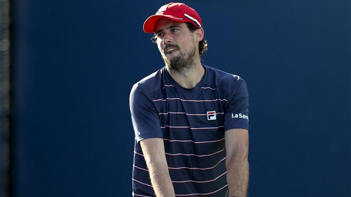 Guido Pella se quedó afuera del US Open.