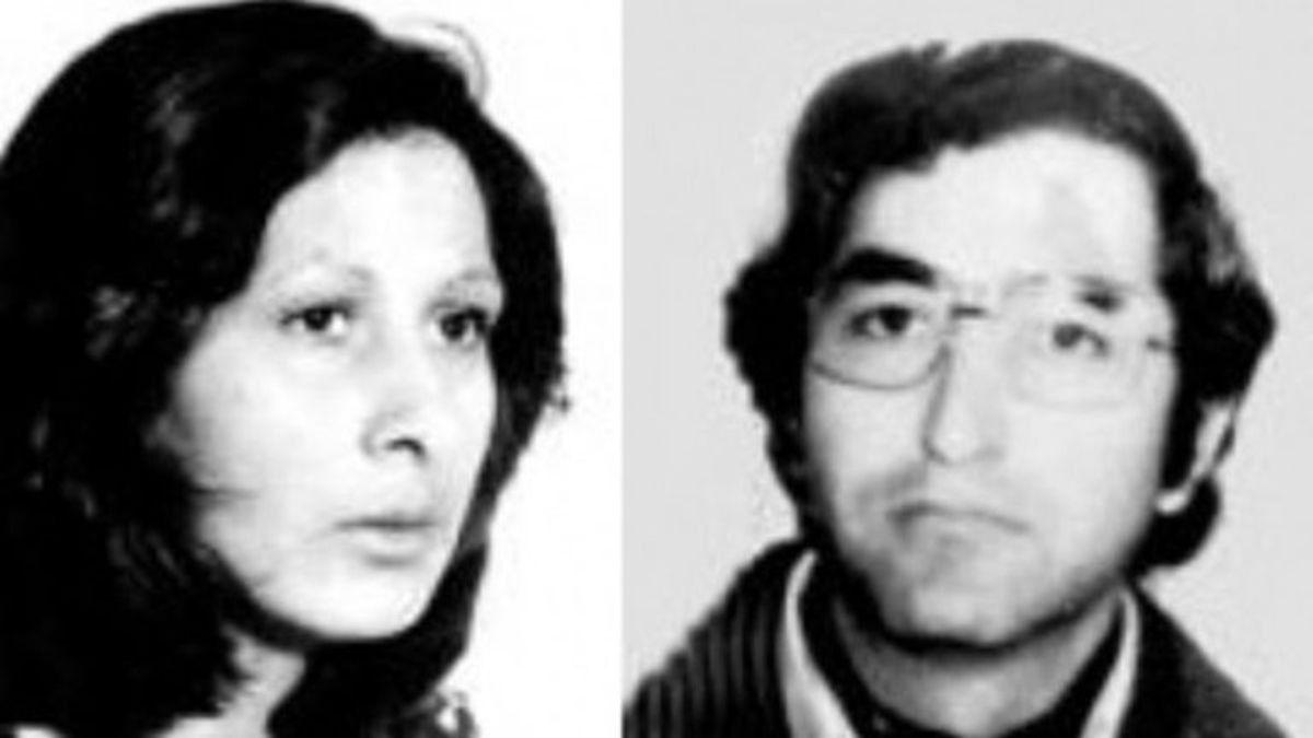María del Carmen Moyano y Carlos Poblete