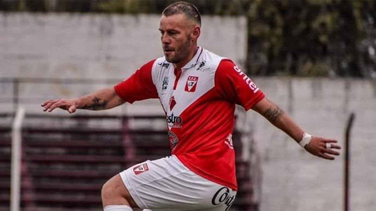 El volante Gonzalo Díaz juega en el Tacuarembó.