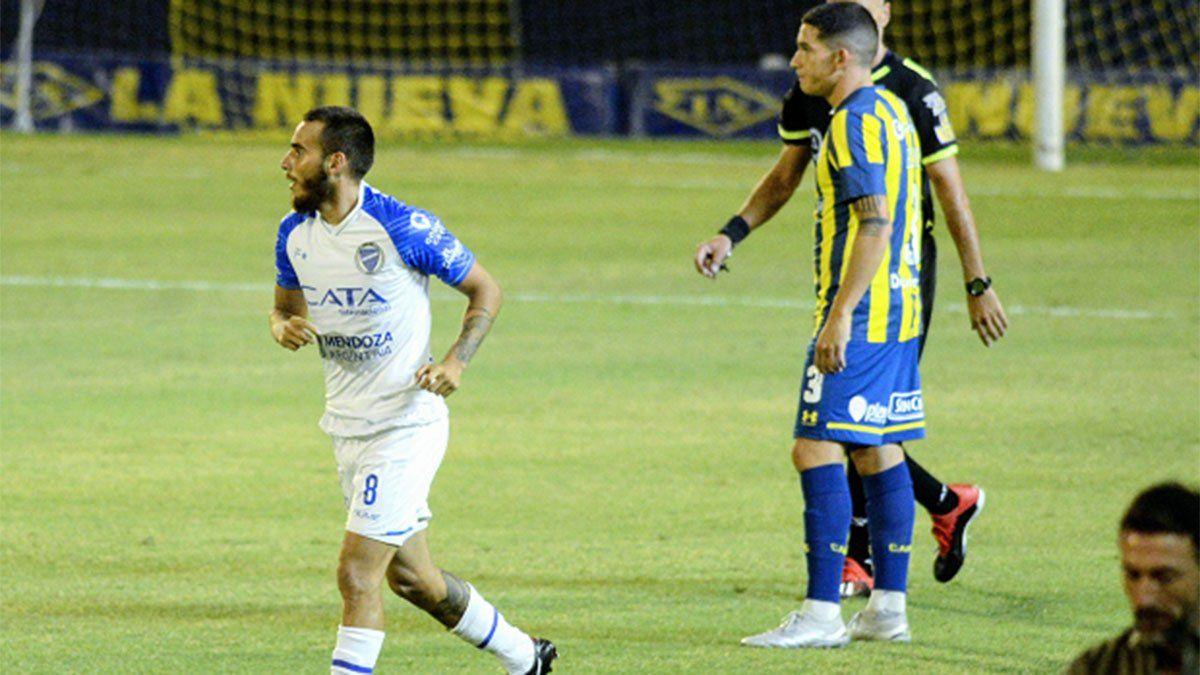 Godoy Cruz empató con Rosario Central y Tesuri hizo un doblete