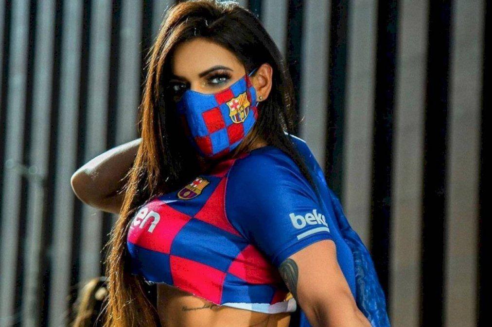 Susy Cortez llora la partida de Leo Messi