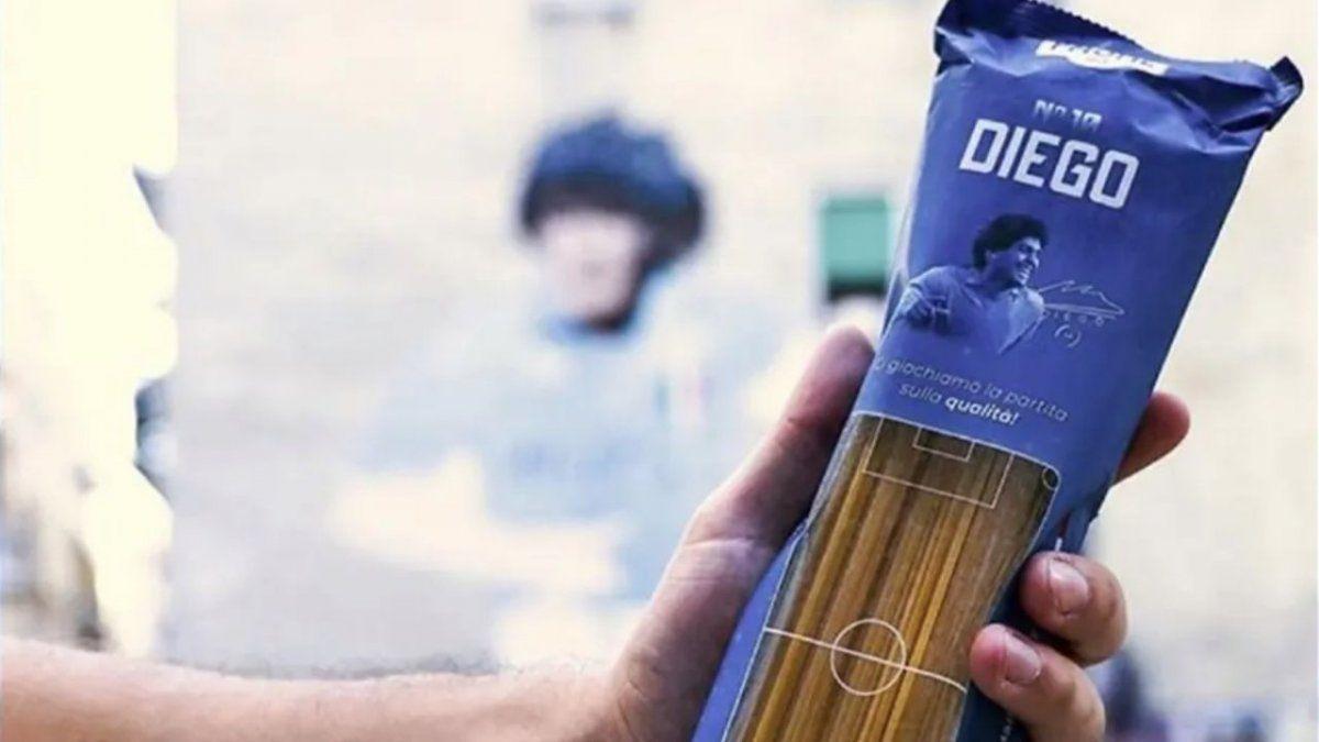 Pasta Maradona se venderán desde el 10 de noviembre.