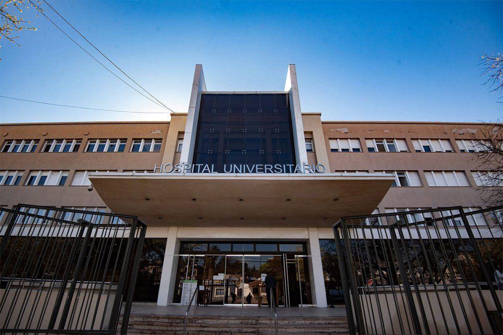 La UNCuyo aprobó por amplia mayoría la decisión del Comité de Emergencia de suspender la atención del hospital universitario a pacientes de coronavirus. Foto: Gentileza Prensa UNCuyo.
