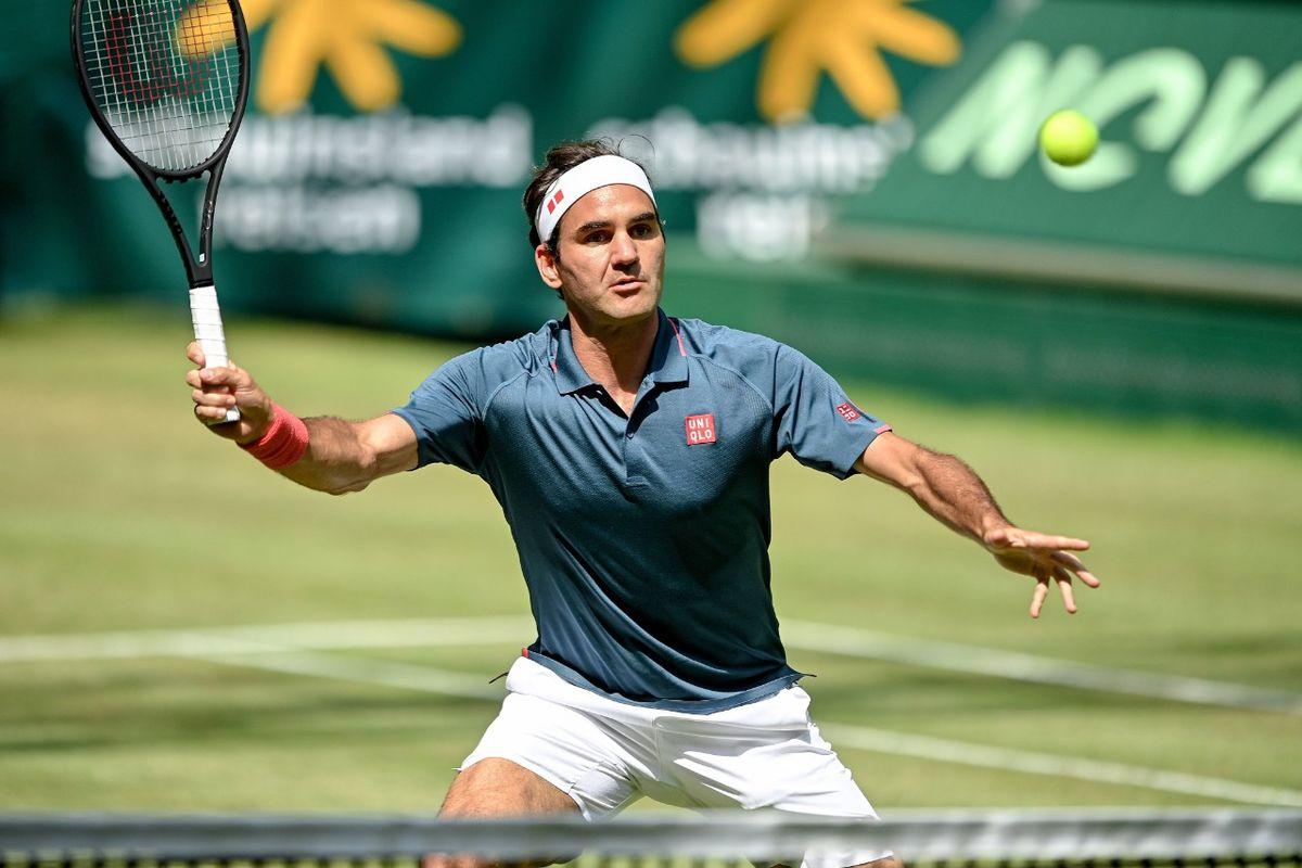 Roger Federer no pudo alcanzar su 11mo. título en Halle.