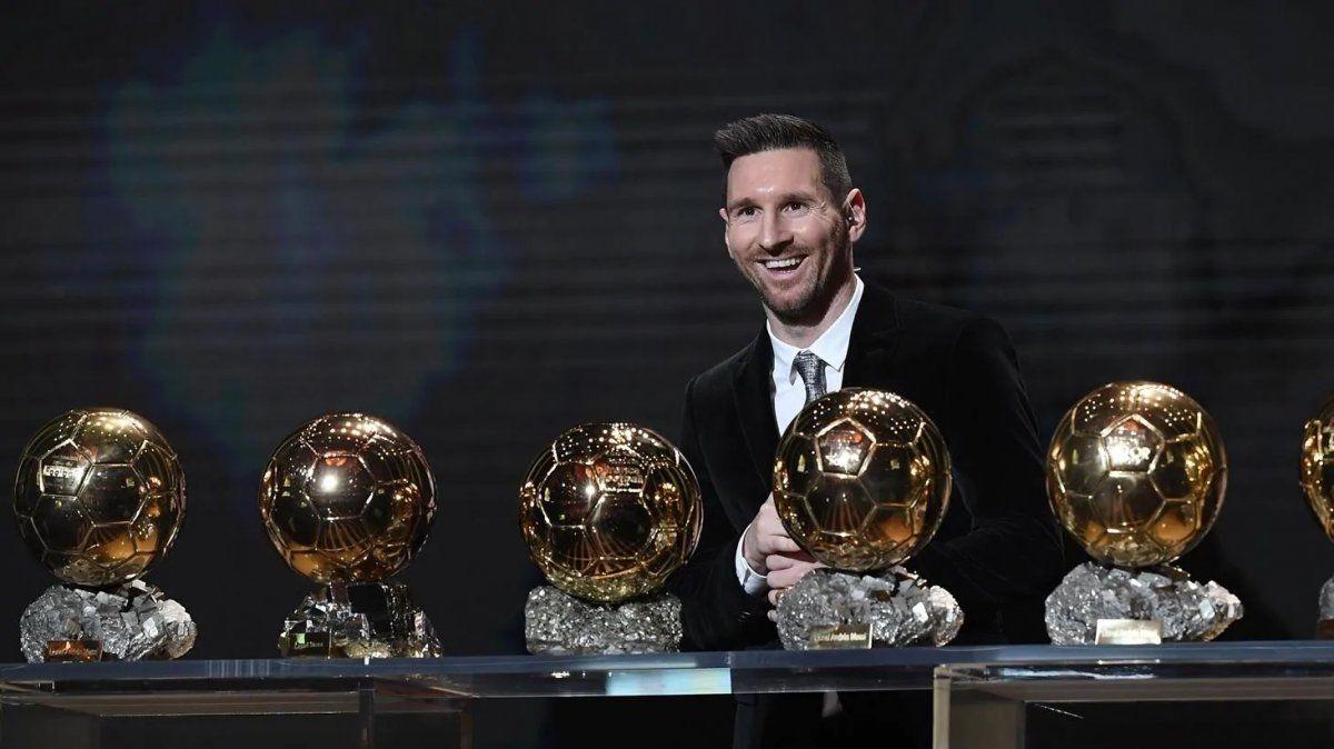 Lionel Messi gano seis veces el Balón de Oro.