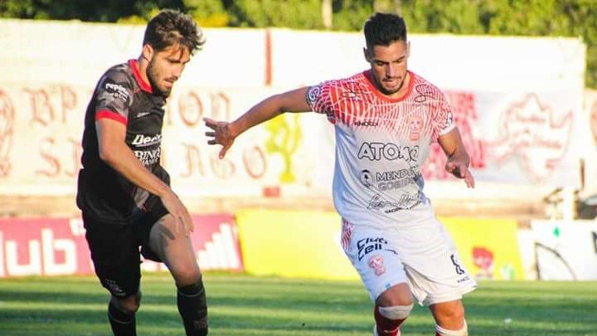 El volante Luis Daher se refirió al choque en San Luis ante Juventud Unida.