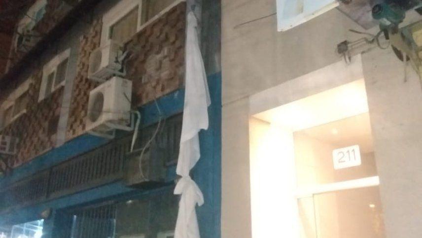 El joven que se escapó de un hotel en cuarentena fue trasladado a la cárcel