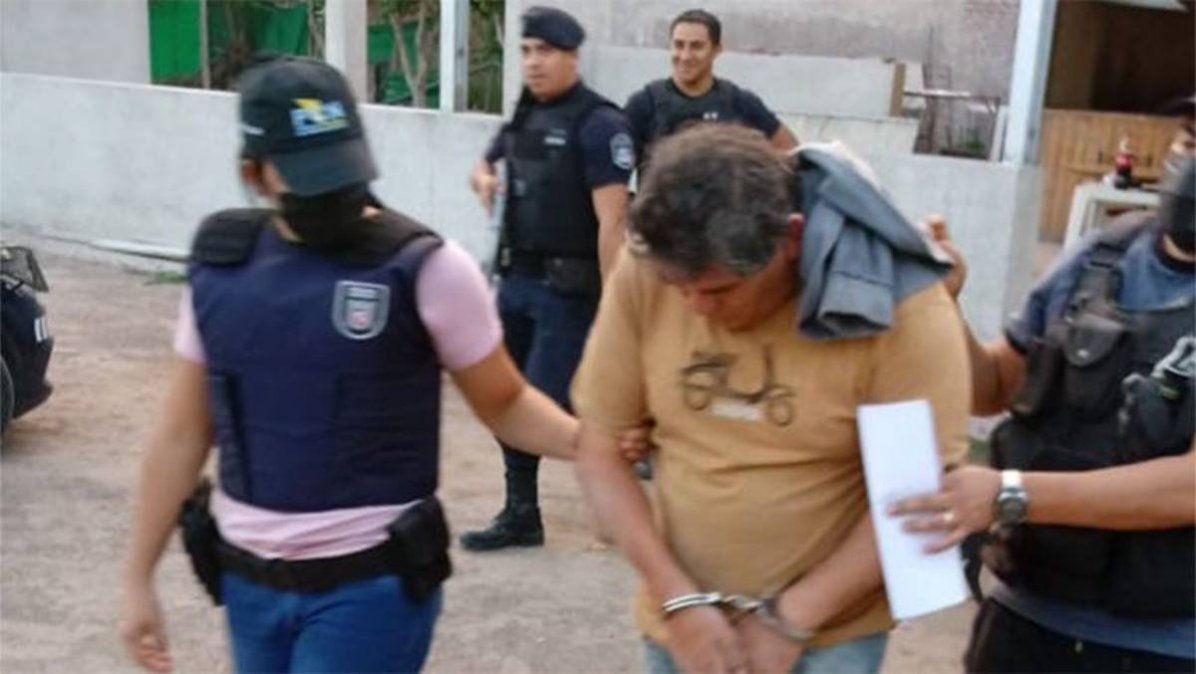 Metralleta Pérez cuando fue detenido el año pasado con droga.
