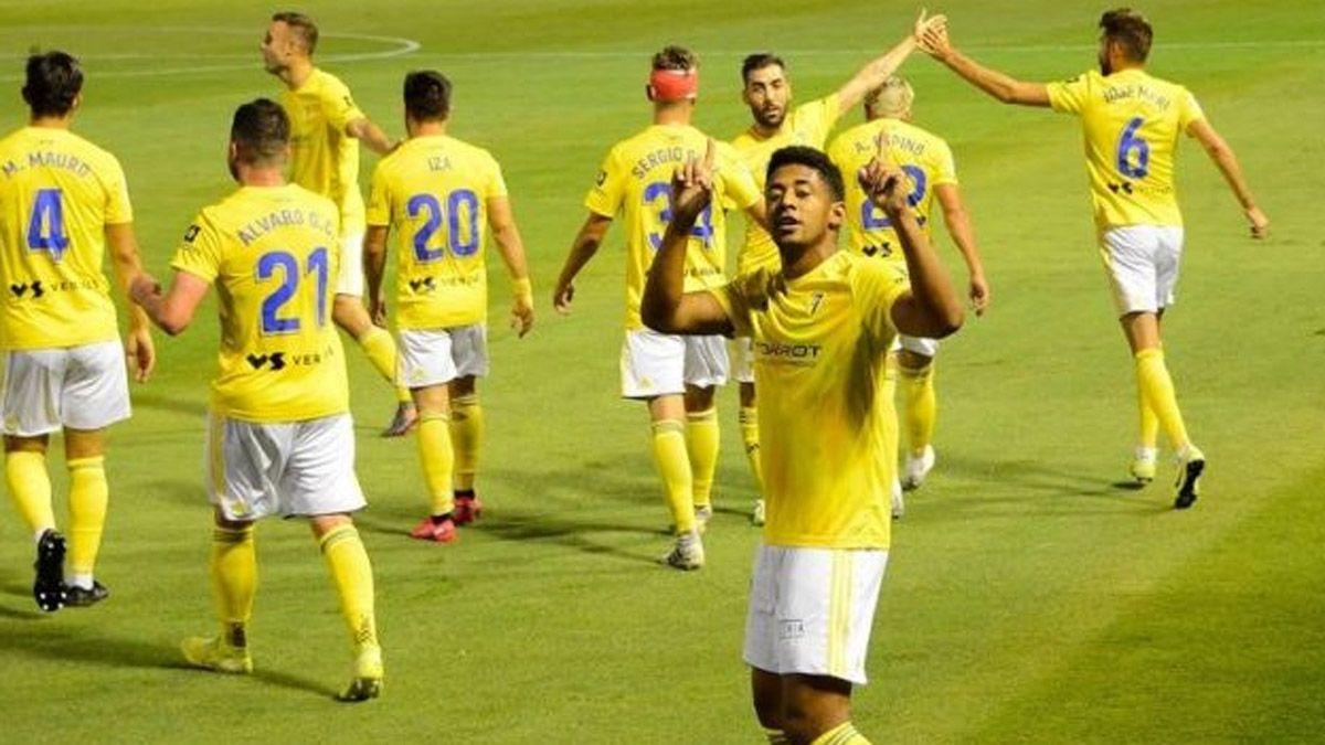 Cádiz, recién ascendido, le ganó al Real Madrid
