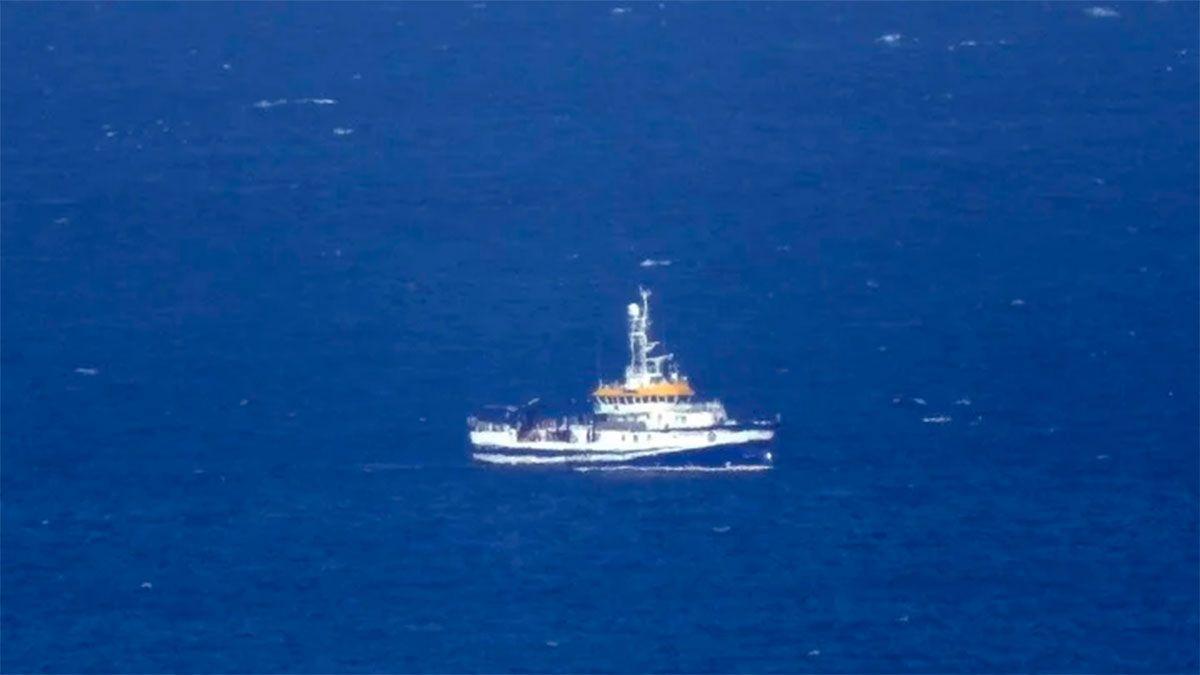 El buque Ángeles Alvariño continúa con la búsqueda de Anna