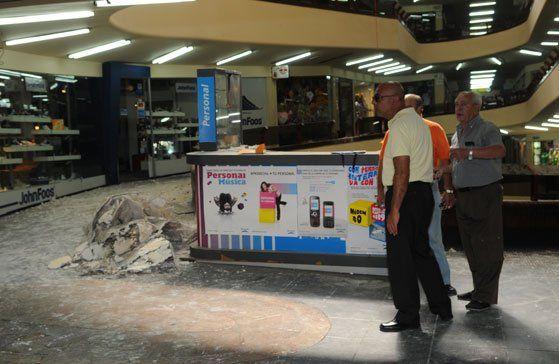 Levantaron la clausura de la galería Caracol luego del derrumbe