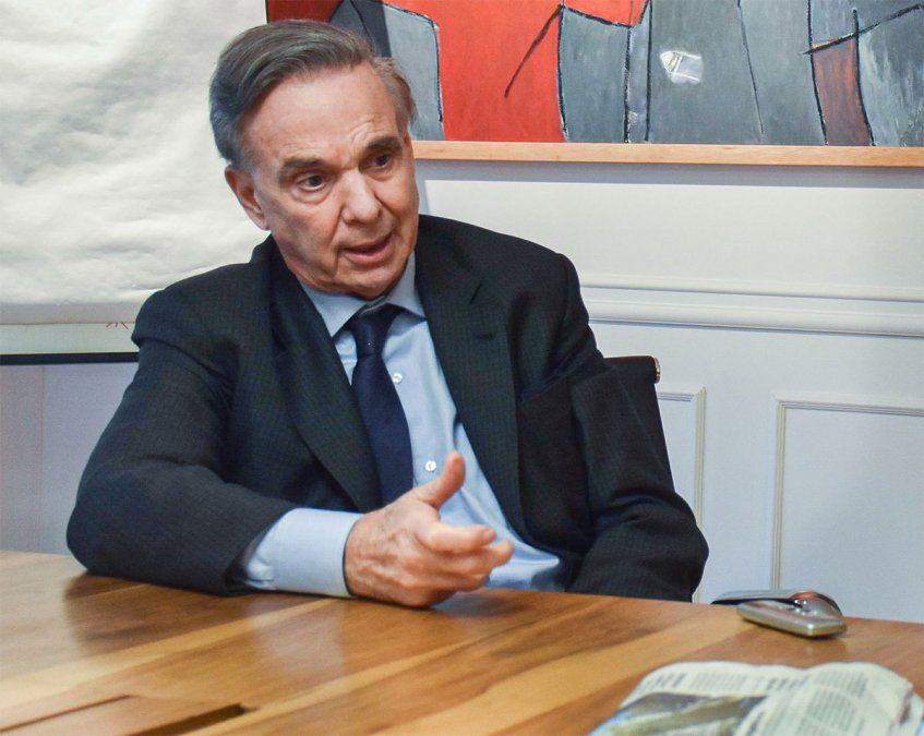Miguel Ángel Pichetto aseguró que el diputado José Luis Ramón miente cuando dice que designó a 300 personas en la Auditoría General de la Nación (AGN). Foto: NA.