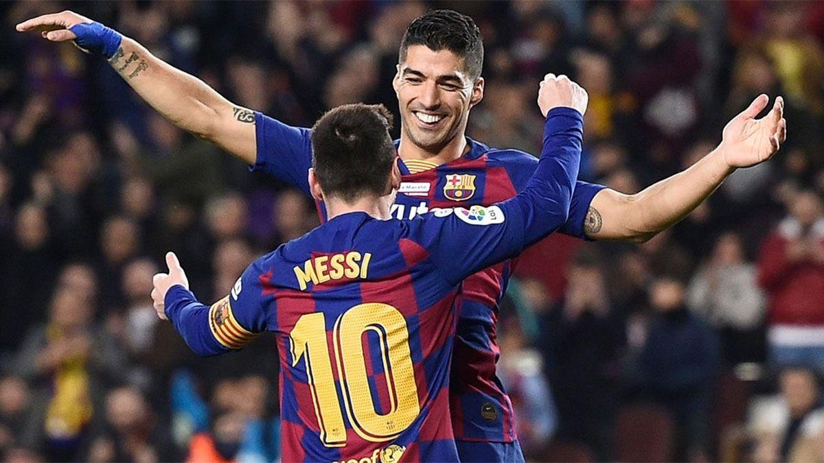 Messi cenó con Luis Suárez y hay tensión en el Barcelona