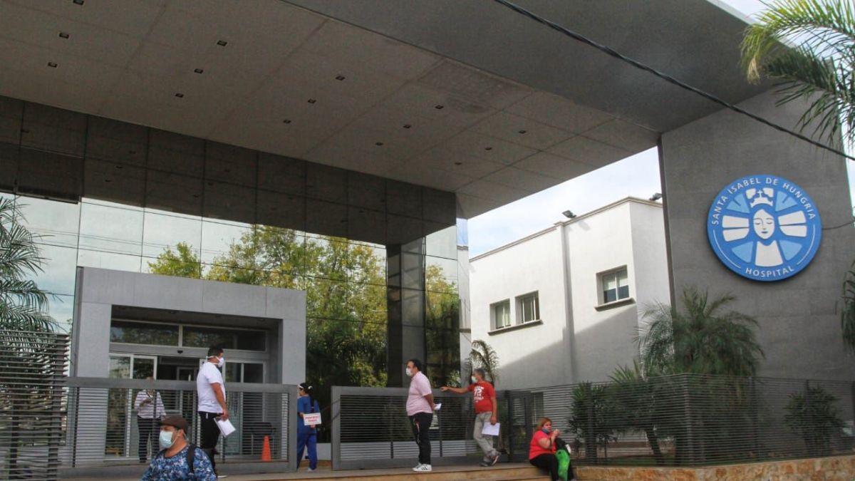 Actualmente el joven herido está internado en el hospital San Isabel de Hungría