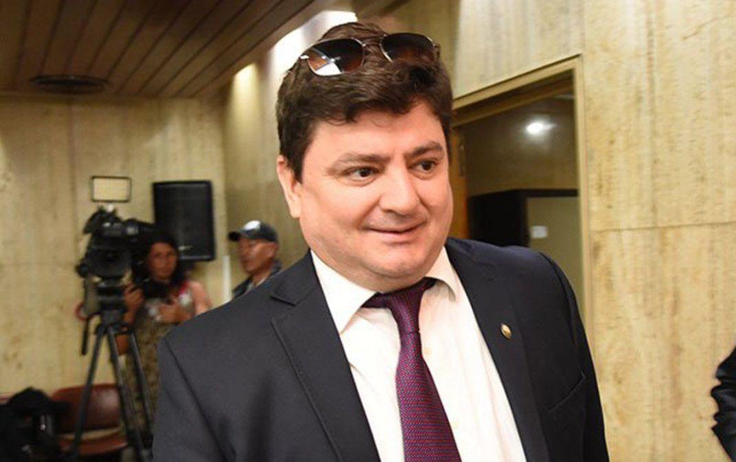 Pablo Salinas fue uno de los jueces que quedó oficializado en su cargo en la Cámara del Tribunal Oral en lo Criminal Federal Nº 2 de Mendoza.