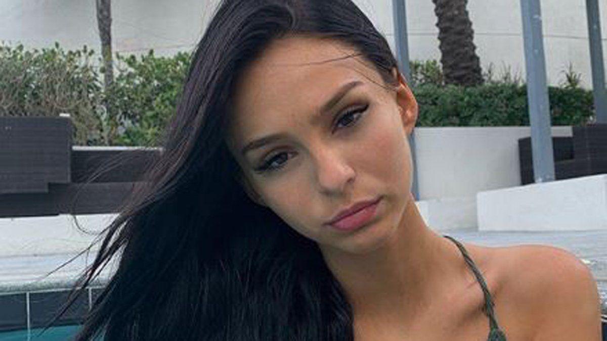 Juanita Tinelli con su look más sexy.