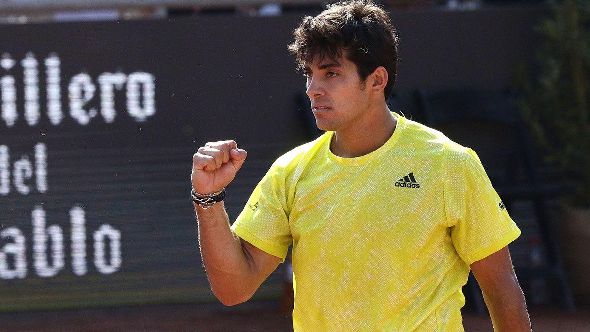 Bagnis cayó en la final del ATP de Santiago de Chile