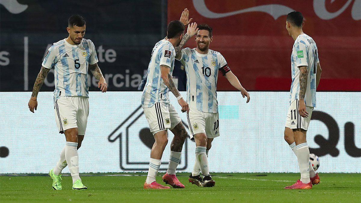 Lionel Messi habló en nombre de toda la Selección argentina