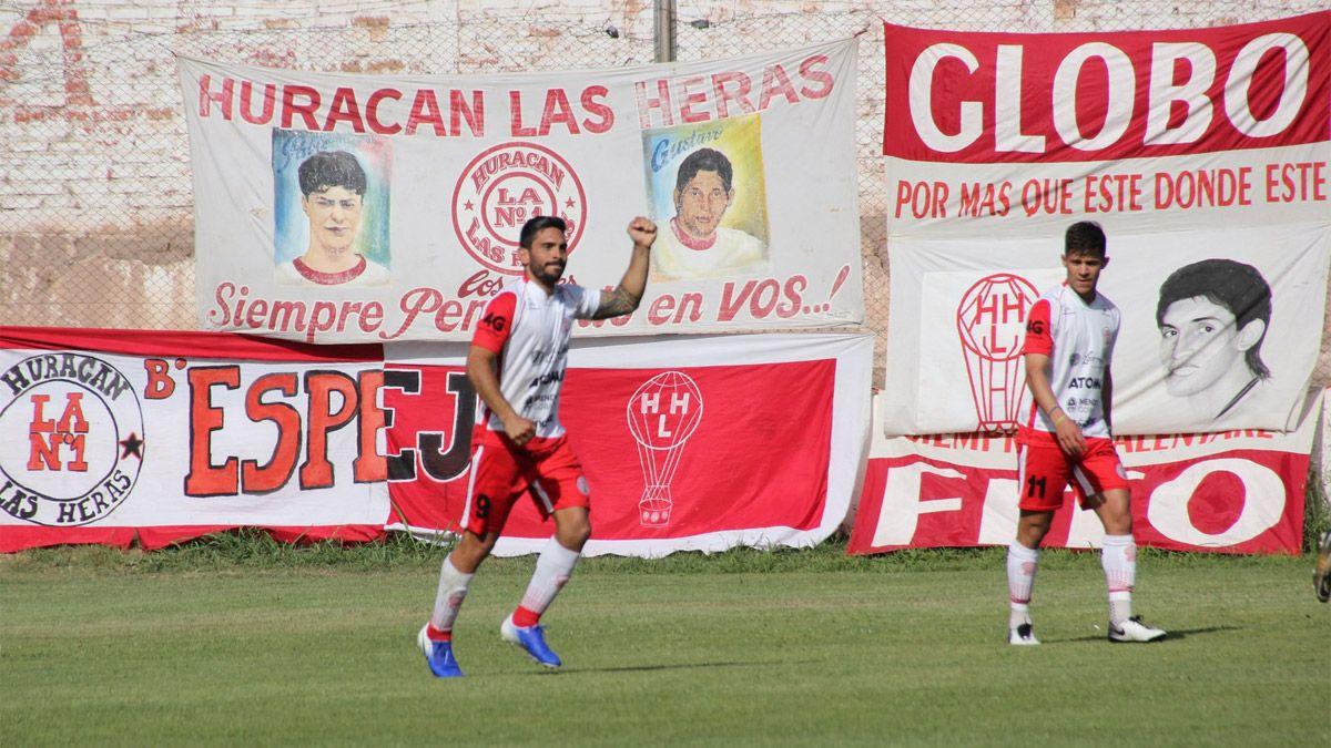 Cristian Lucero y una cálida despedida por parte de Huracán