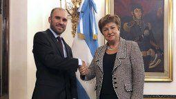 Martín Guzmán se reunirá en Roma con Kristalina Georgieva.
