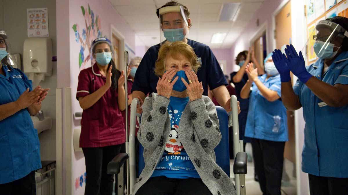 El Reino Unido comenzó a aplicar la vacuna contra el coronavirus